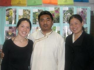 来日したチベット医の講演