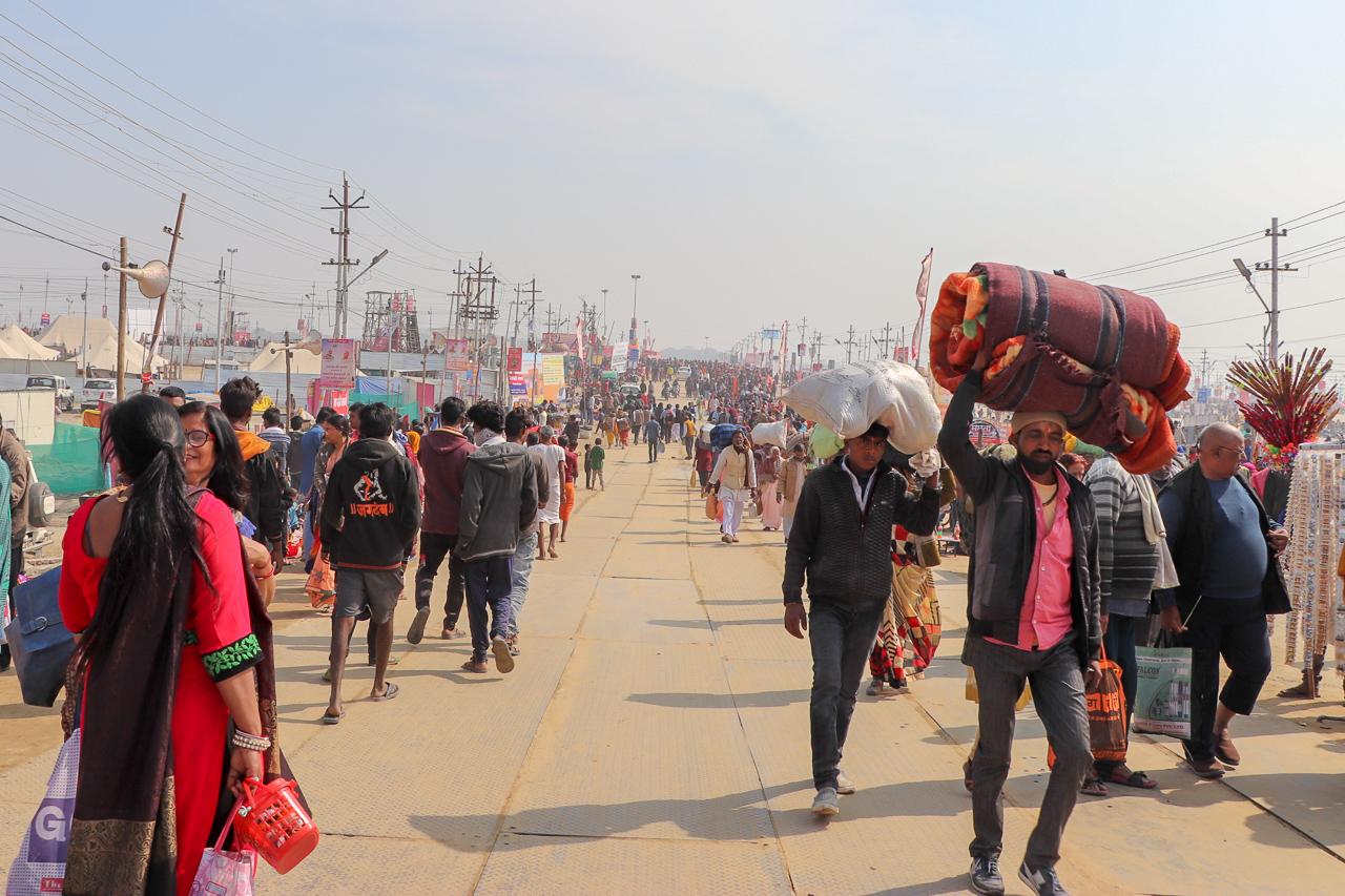 インドのお祭 クンブメーラ