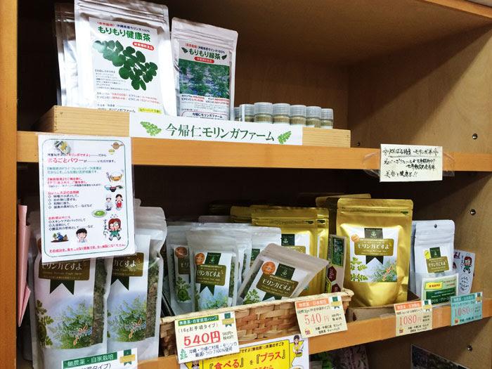 沖縄のモリンガ茶
