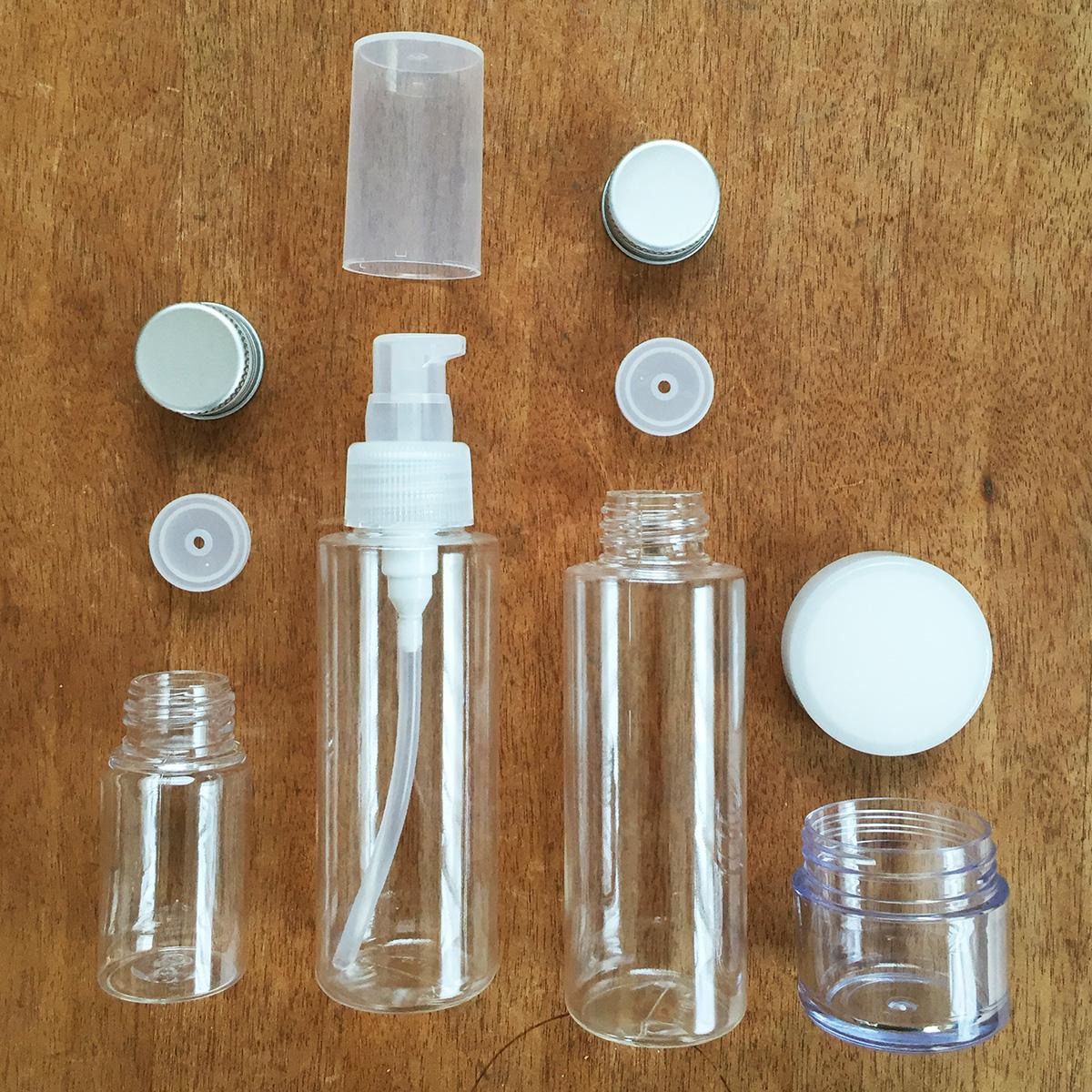 インド旅行に便利な無印良品の詰め替え容器