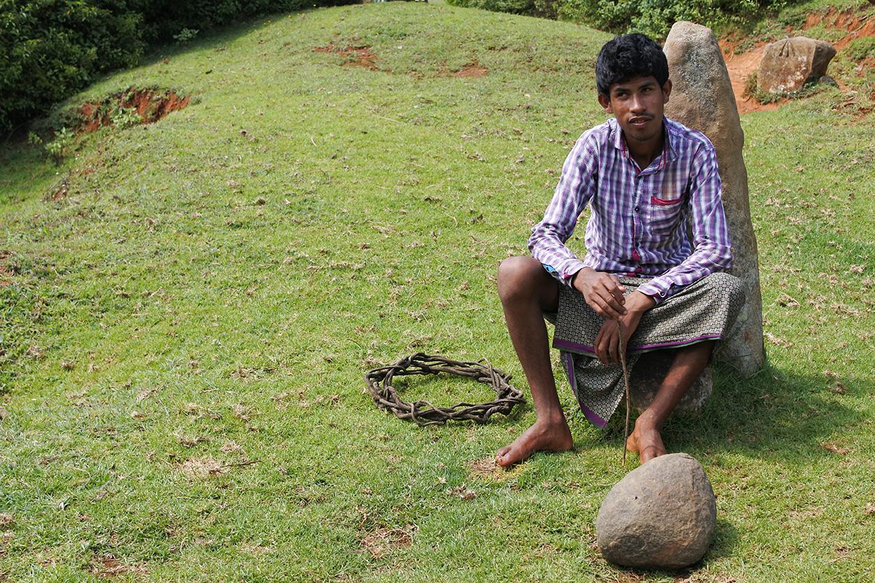 トダ族の若い男性