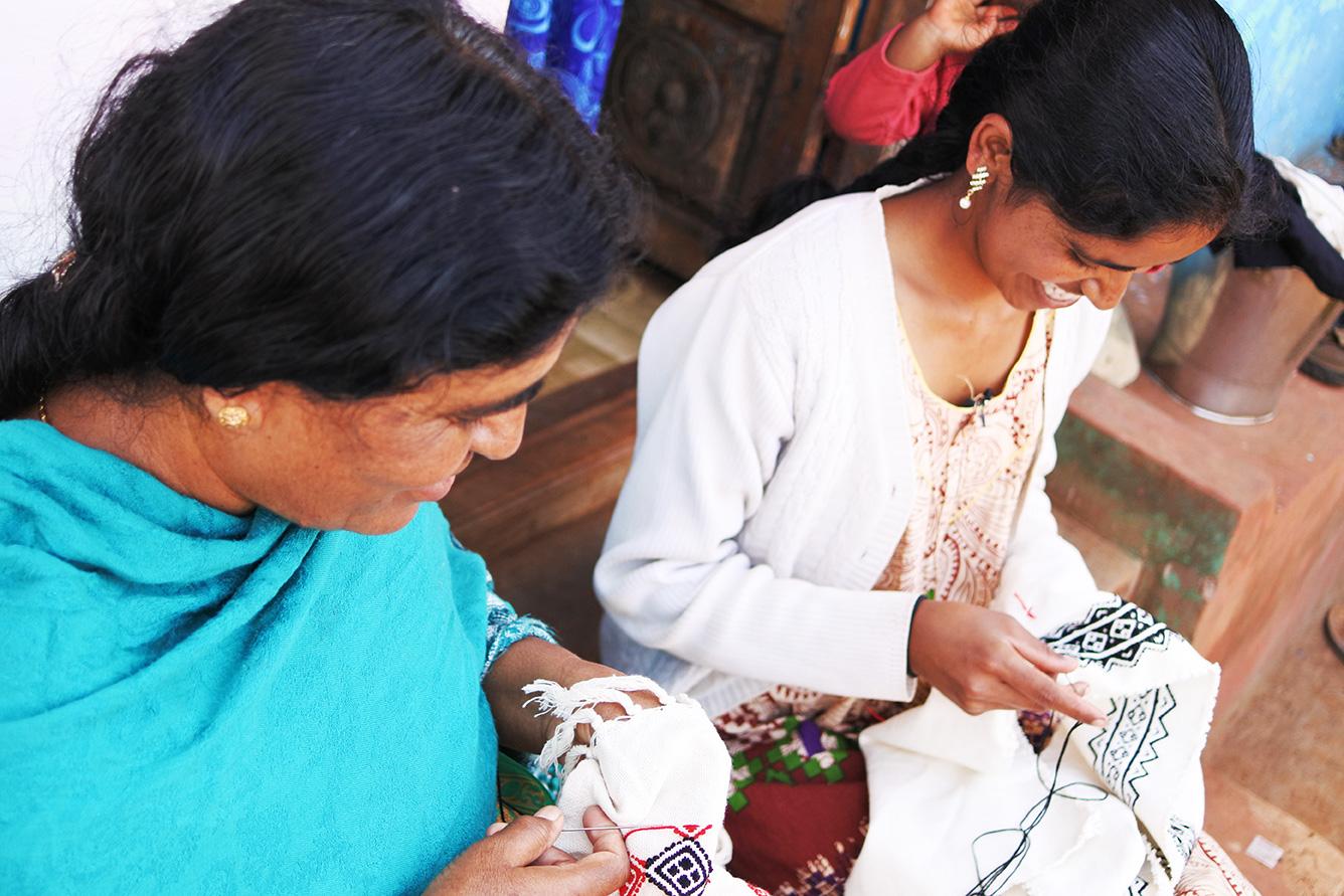 トダ族の刺繍