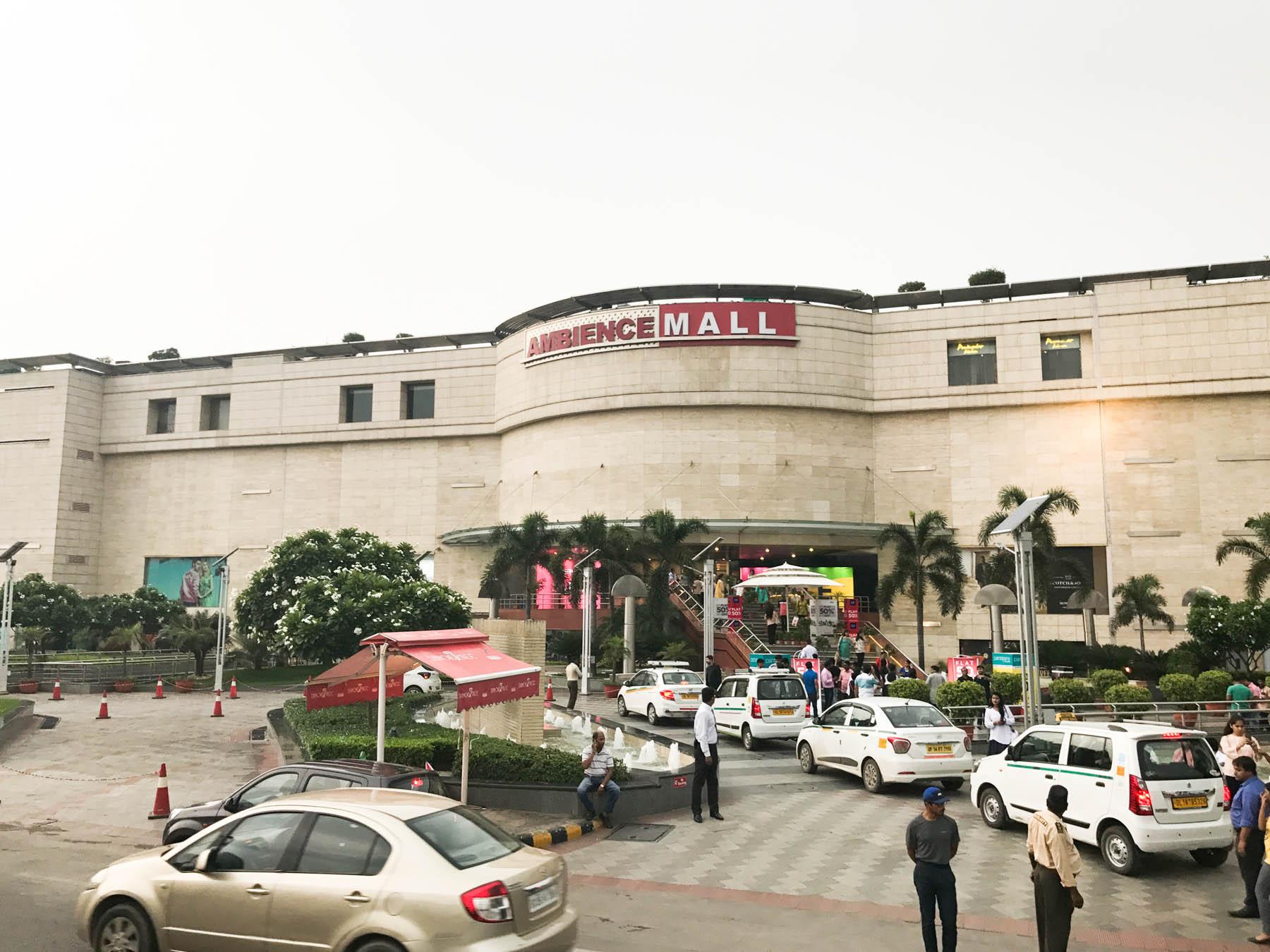 インドのショッピングモール Ambience Mall Vasant Kunj