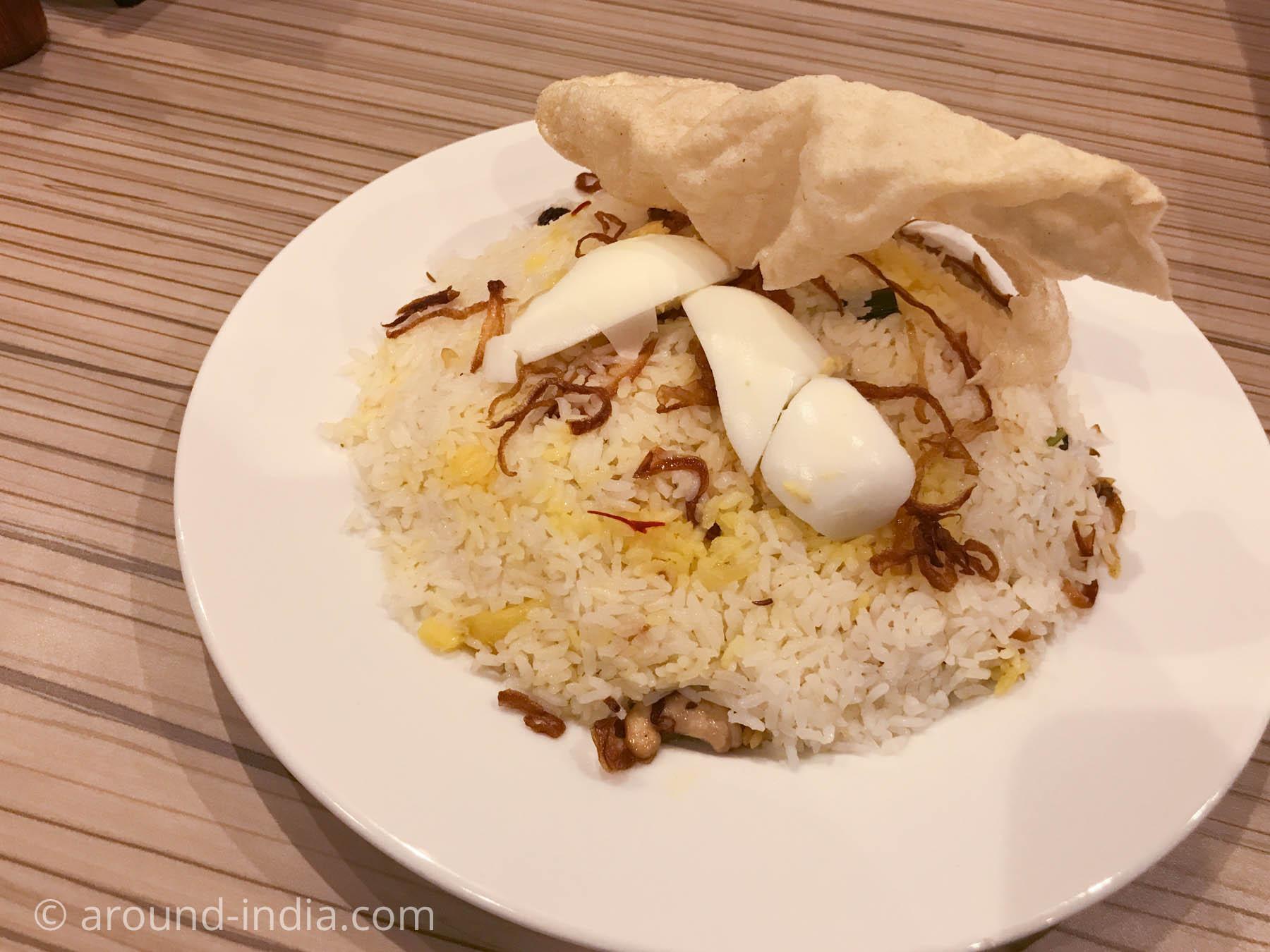 ケララ料理サウスパークのケララビリヤニ