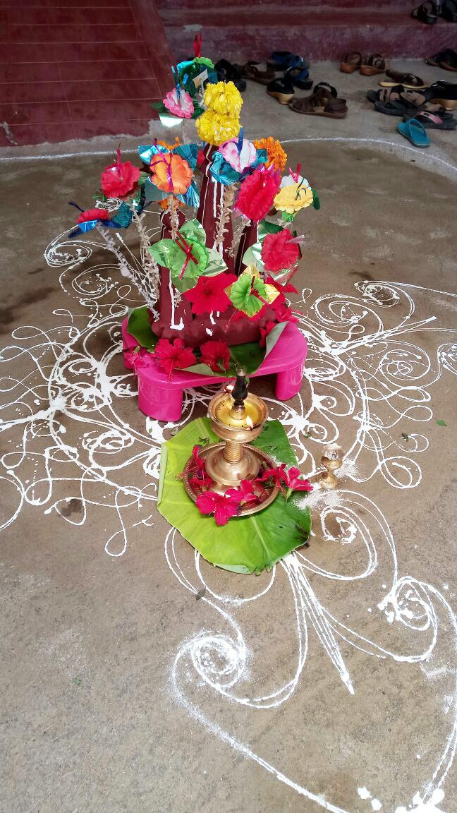 ケララのお祭オナム、Maveliという飾り