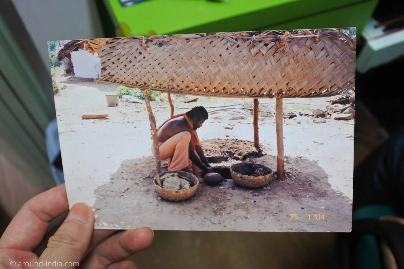 南インドの伝統医学シッダの伝統の薬作り