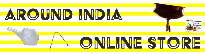 AROUND INDIAオンラインストアバナー