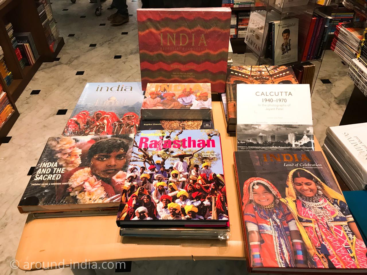 ムンバイの本屋Kitab Khana インド写真集