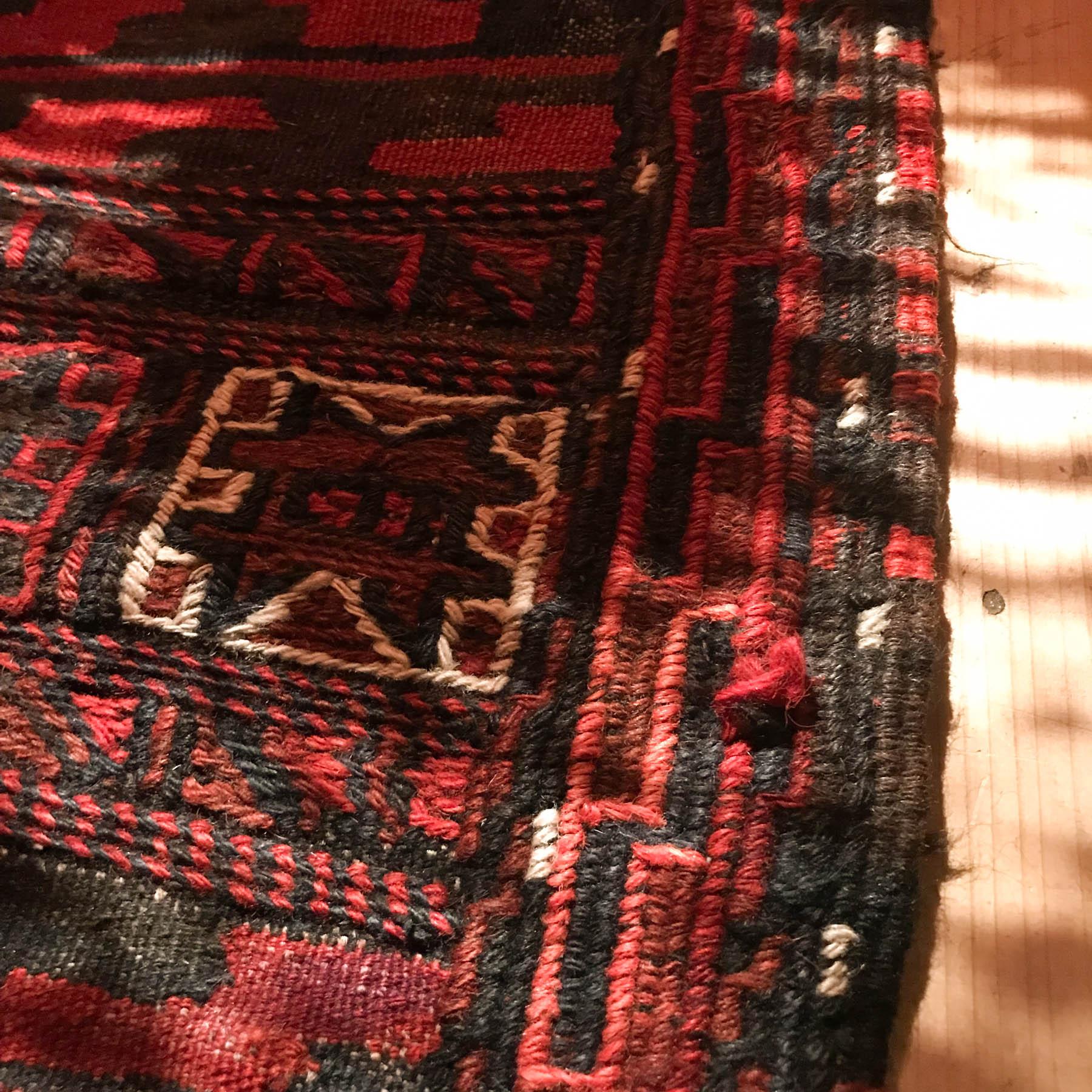 キリムの絨毯