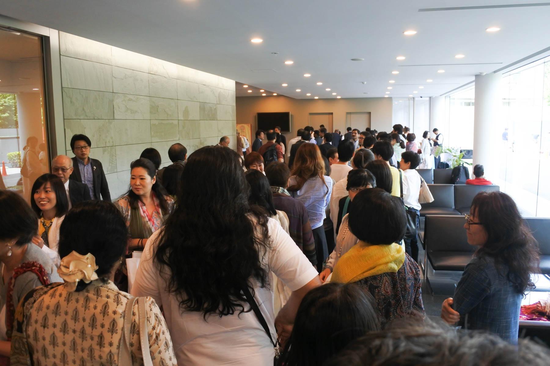 第一回インド政府AYUSHセミナー 集まった関係者