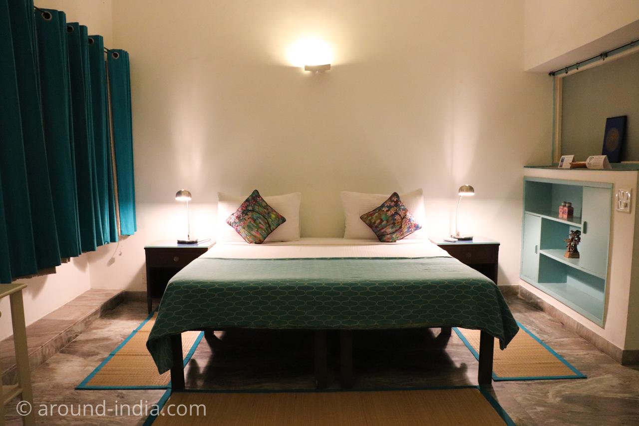 デリーのホテルHaveli Hauz Khasの部屋