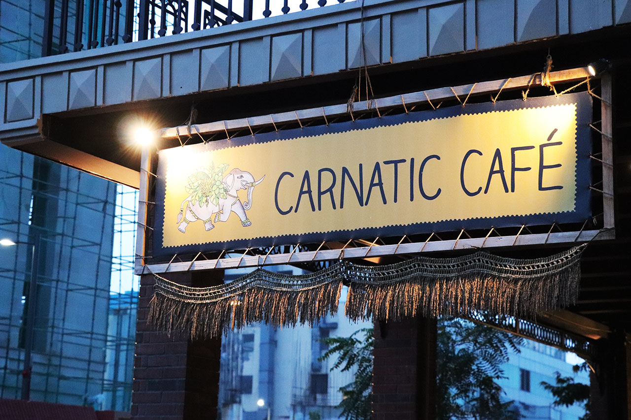 カルナタカ料理カルナティックカフェ外観