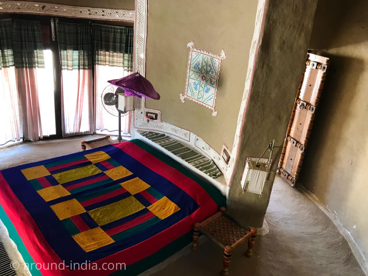 インド・カッチの宿SHAAM-E-SARHAD、ブンガ内部