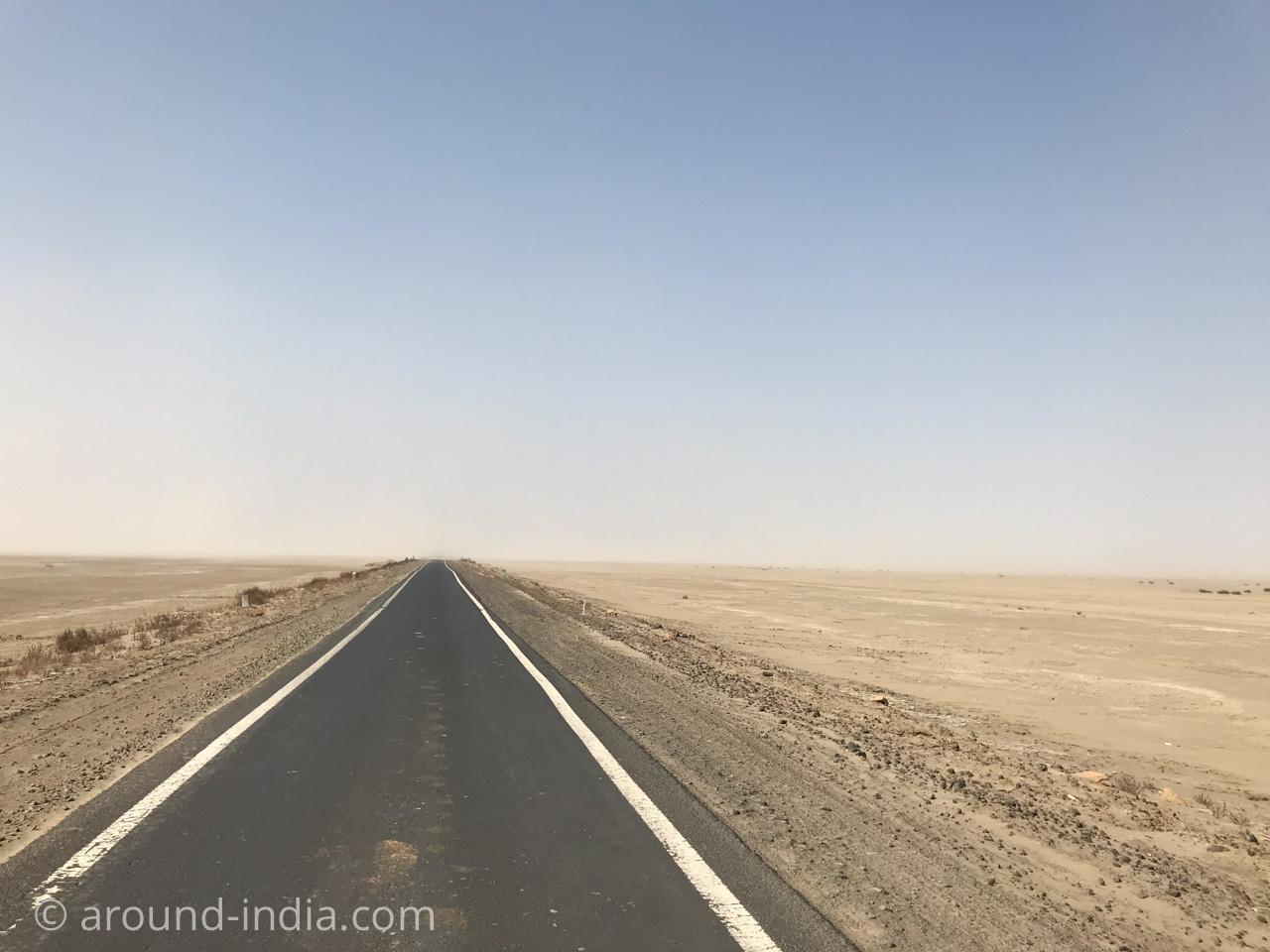 インド・カッチの道