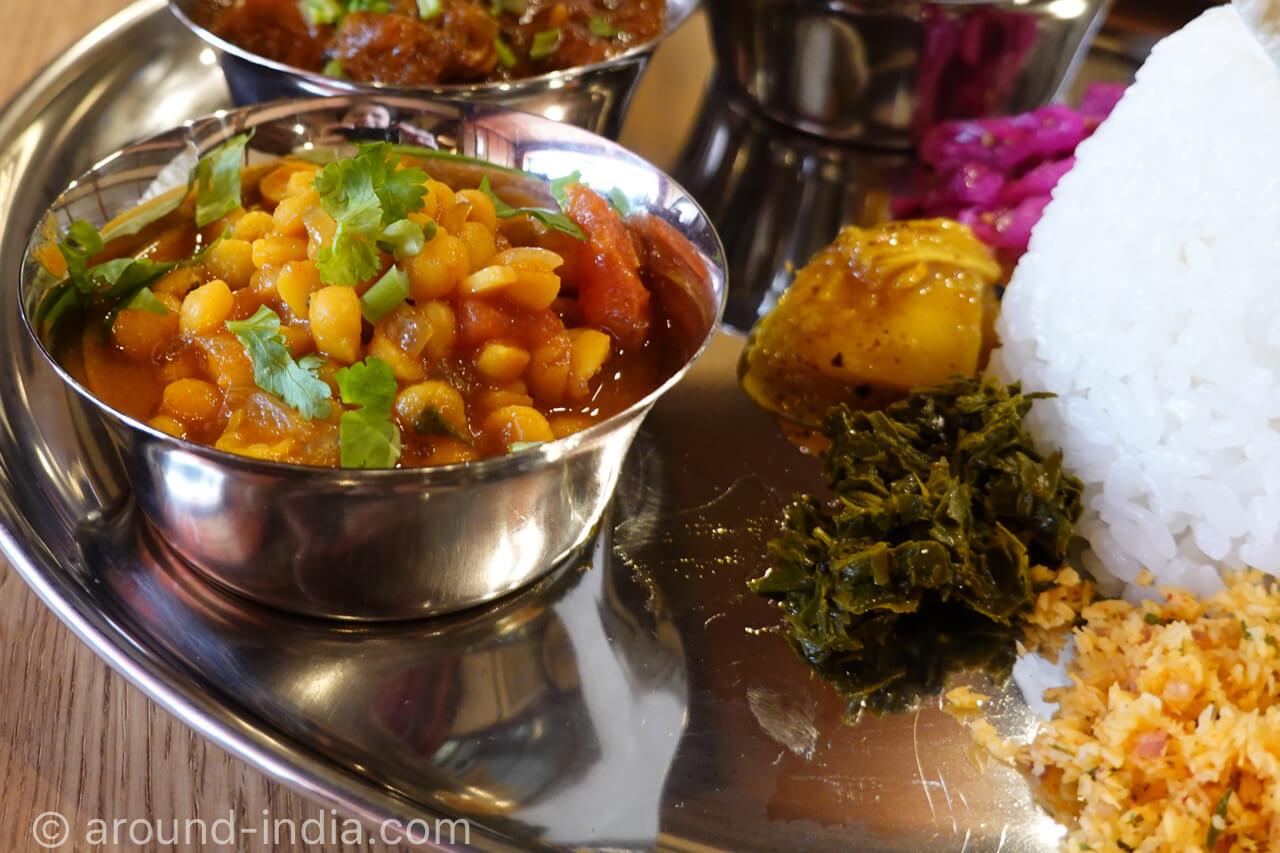 小田原・如春園の茶殻を使ったインド料理