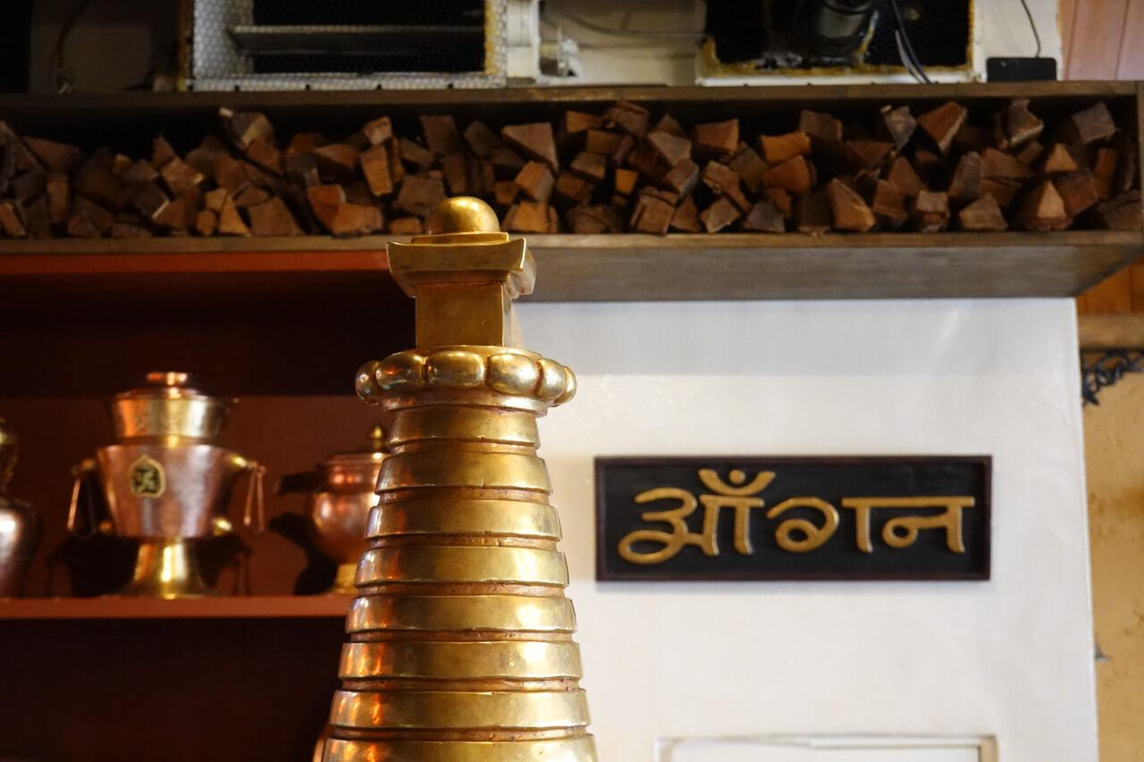 新大久保のネパール料理アーガン 店内
