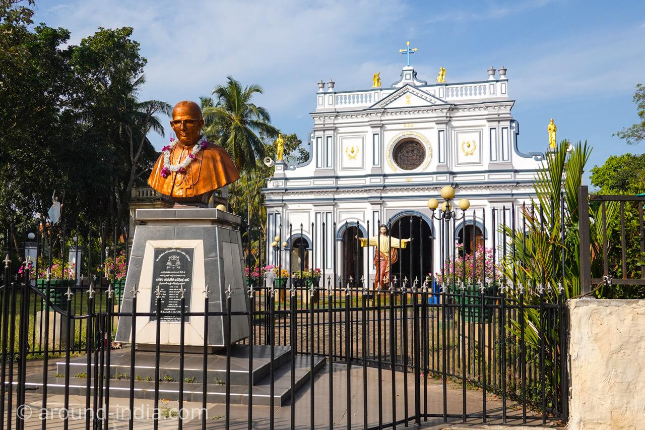 スリランカの教会