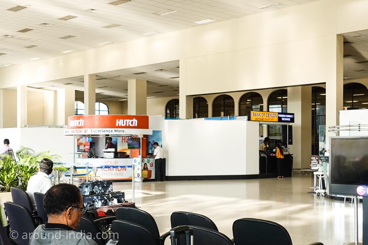 スリランカ・コロンボ空港でSIMを購入