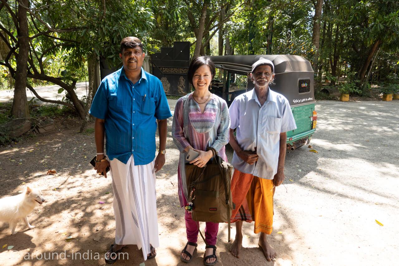 スリランカの伝統医 パーランパリカウェダカマ 診療所