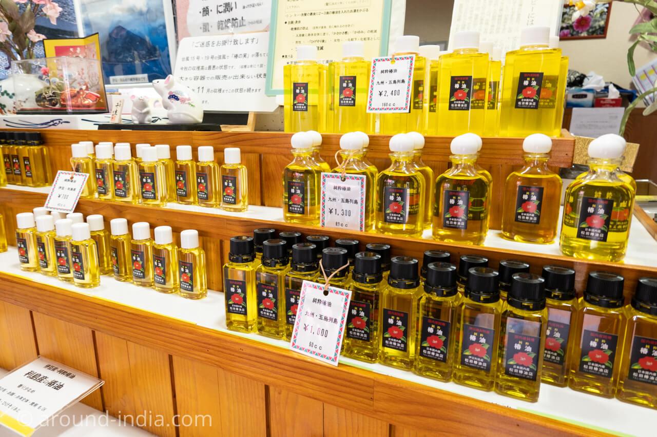 松田椿油店の国産純椿油
