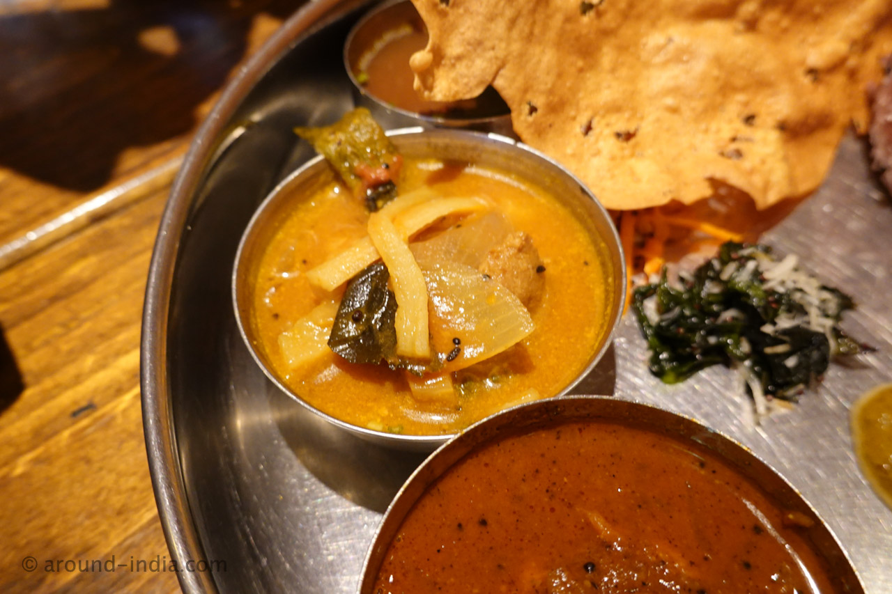 千葉 南インド料理 葉菜 のスペシャルミールス