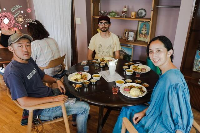 ご一緒したMe curryさん、ちゅうさん、ユカリちゃん