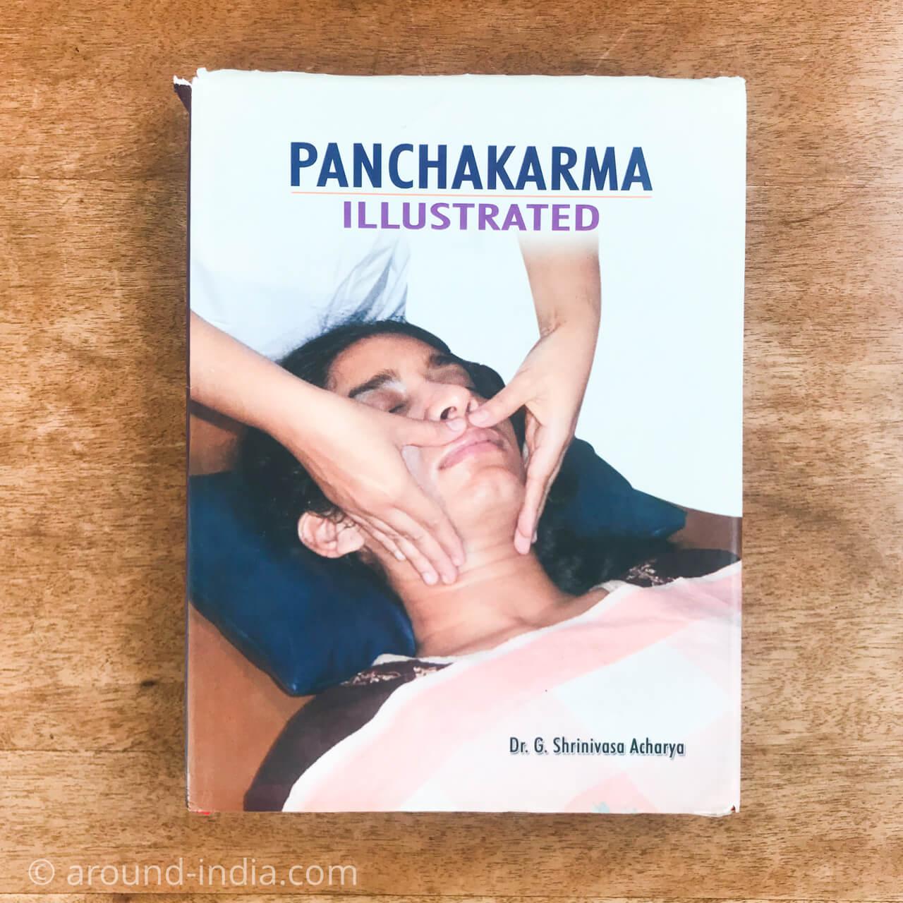 アーユルヴェーダの本 Panchakarma Illustrated パンチャカルマ図解