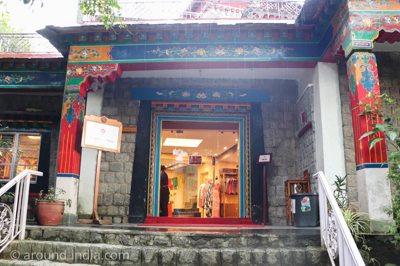 ダラムサラのノルブリンカチベット芸術 ダラムサラのノルブリンカチベット芸術 ミュージアムショップ
