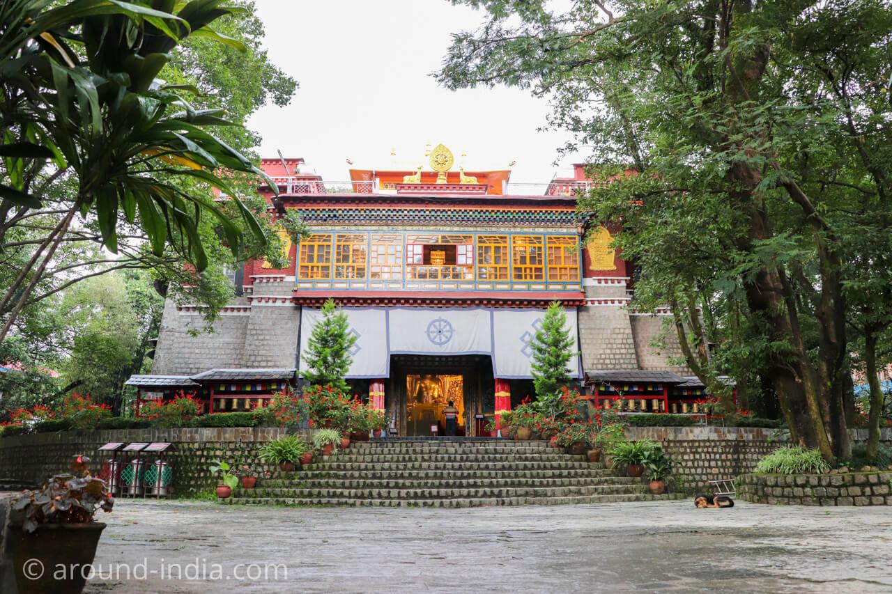 ダラムサラのノルブリンカチベット芸術 ダラムサラのノルブリンカチベット芸術 お寺