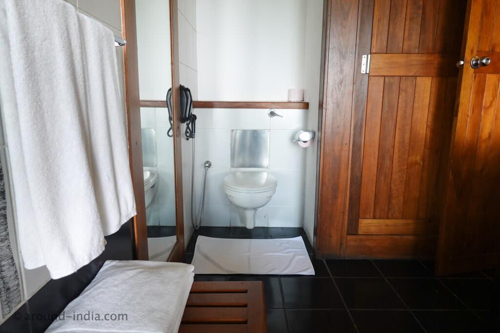 ヘリタンスカンダラマ デラックスルームのバスルーム