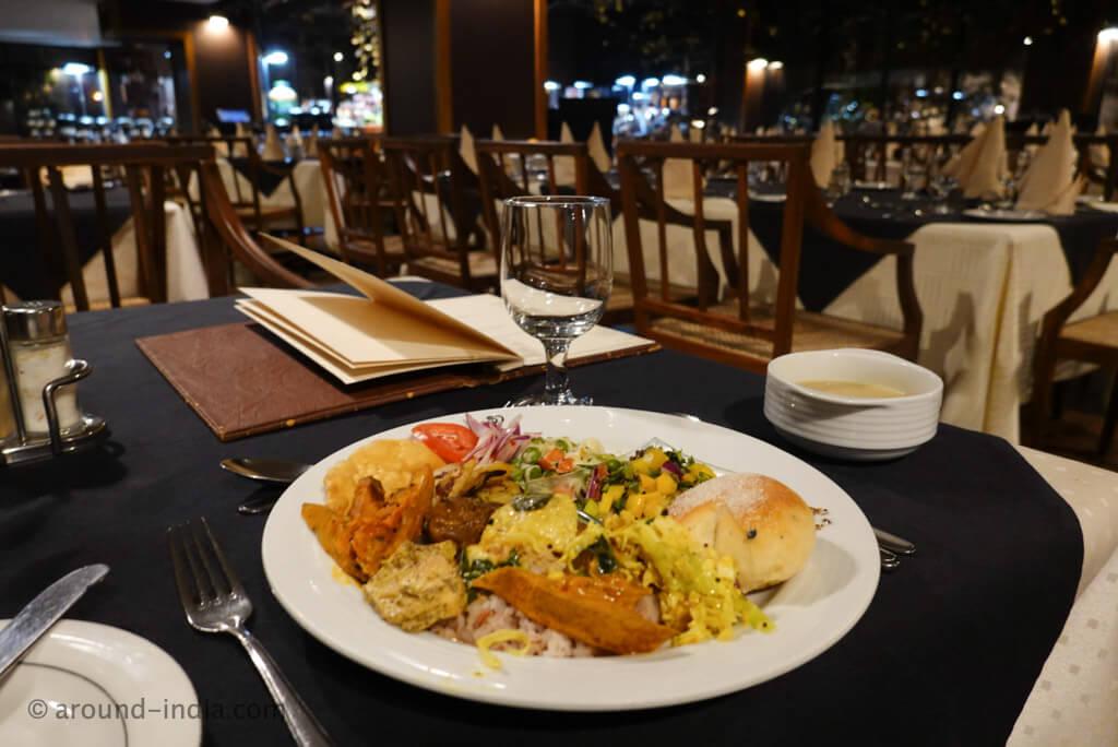 ヘリタンスカンダラマのレストラン