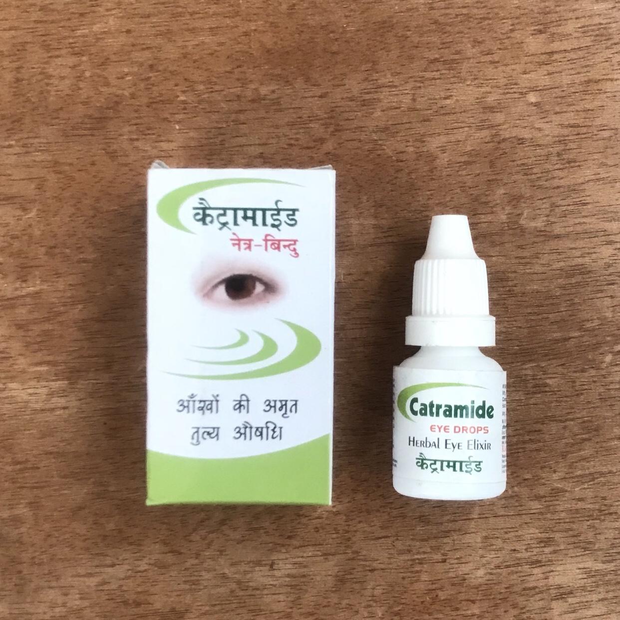 北インド アーユルヴェーダ目薬カトラミデ Catramide