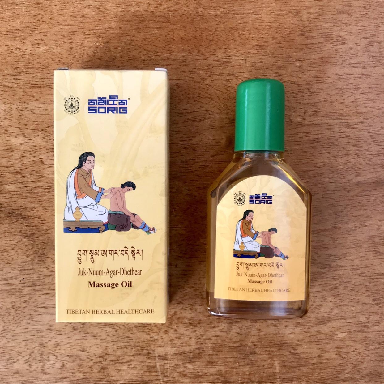 チベット医学メンツィカン製マッサージオイル