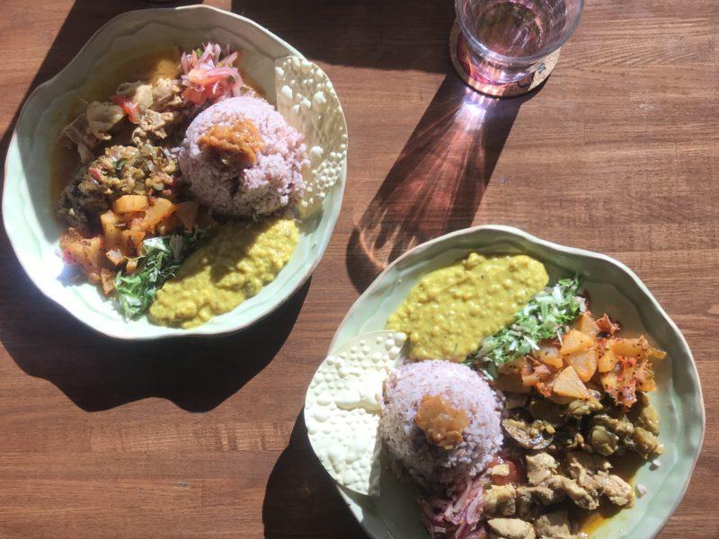 茅ヶ崎スリランカ料理Bruny プレートランチ