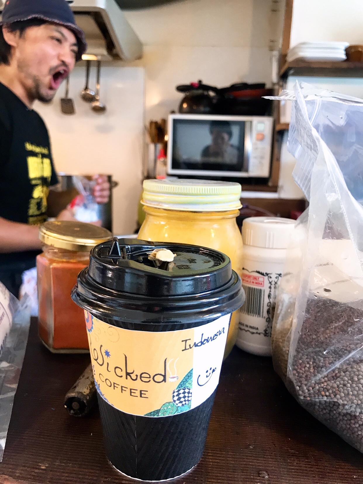 アーユルヴェーダ人体実験1 タケダワーラーのコーヒー&カルダモン