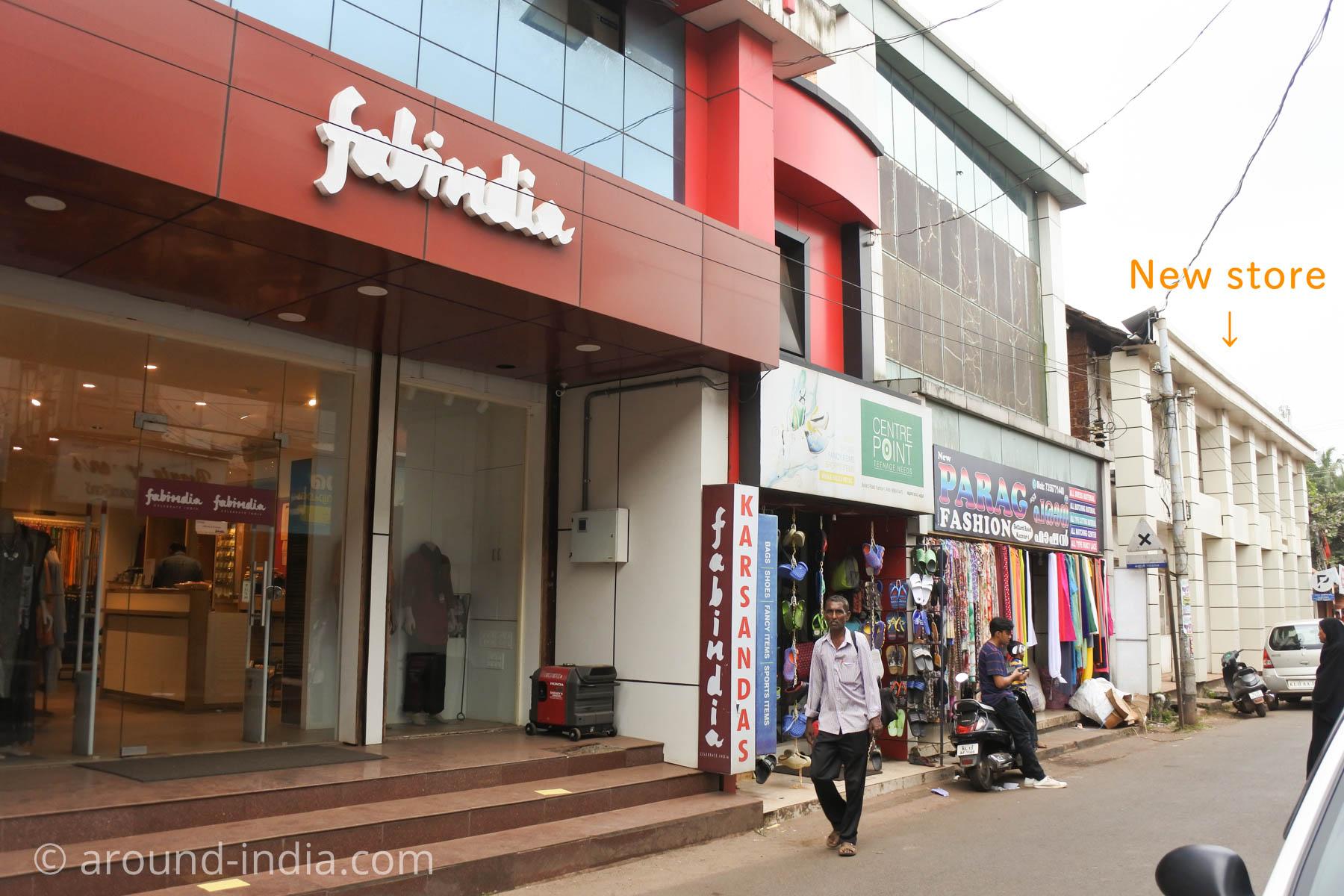ファブインディア fabindia カヌール店