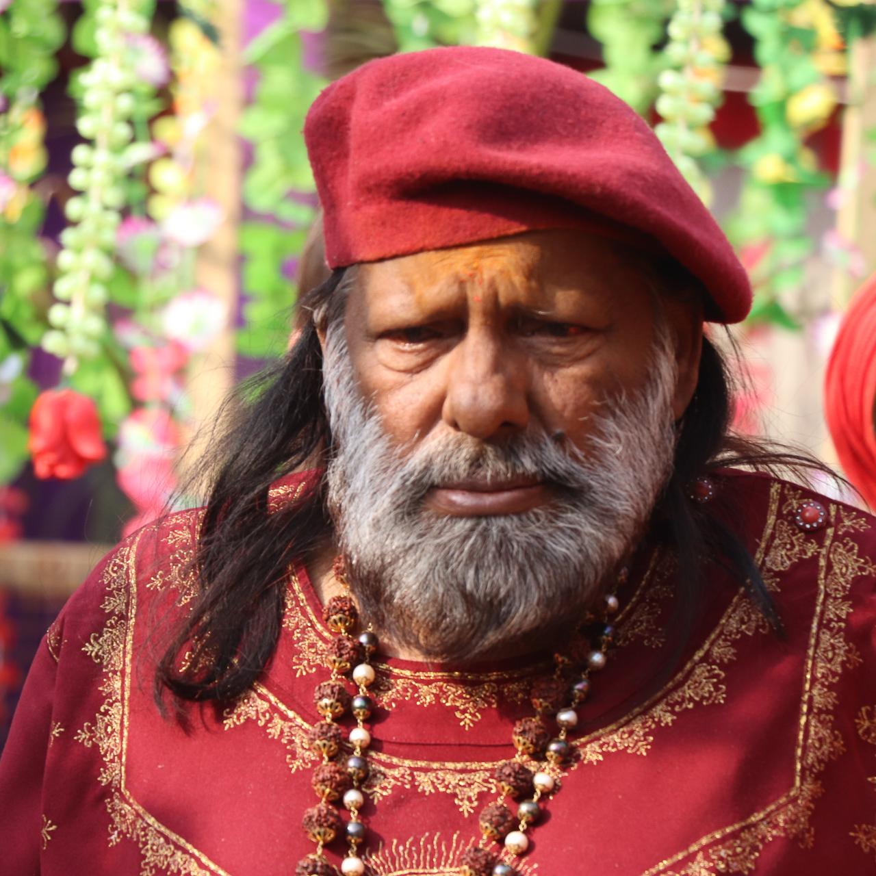 インドのお祭 クンブメーラ 聖者 パイロットババジ pilot babaj