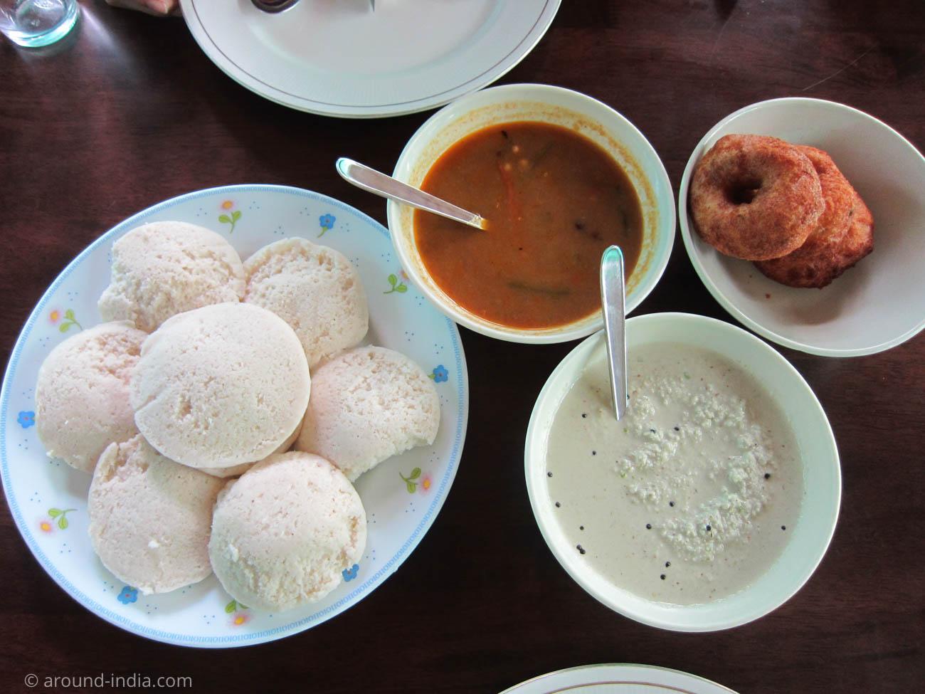 Asokam Beach Resort ケララのアーユルヴェーダ施設 ケララの朝食