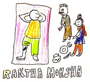 ラクタモクシャナ、瀉血のイメージ