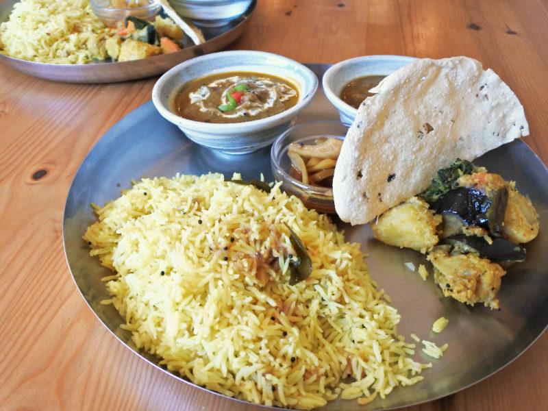 辻堂のインド料理メノンのランチの南インドセット