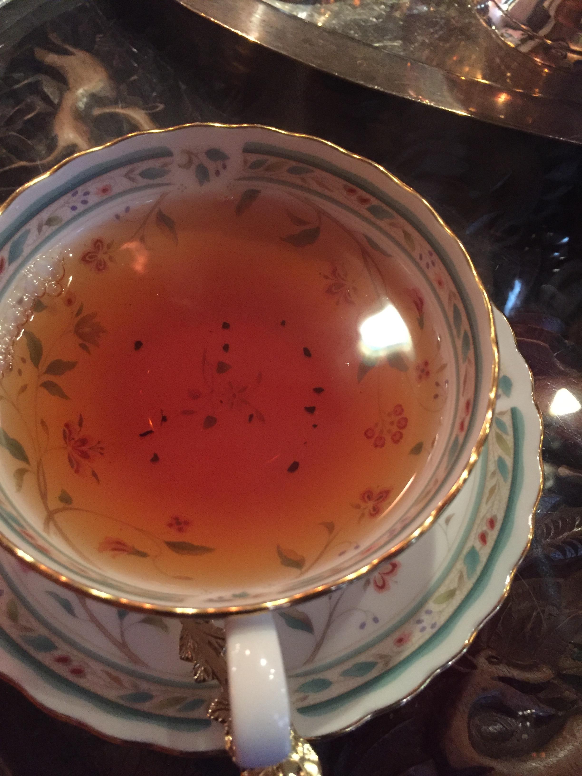 紅茶がおいしいダージリン 日暮里の透き通る美しい紅茶