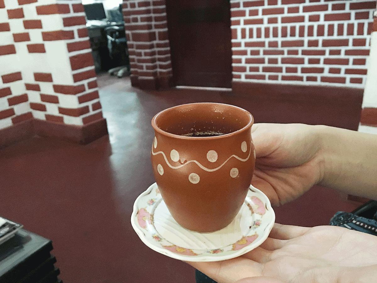 Kailari Ayurveda トリートメント後のお茶