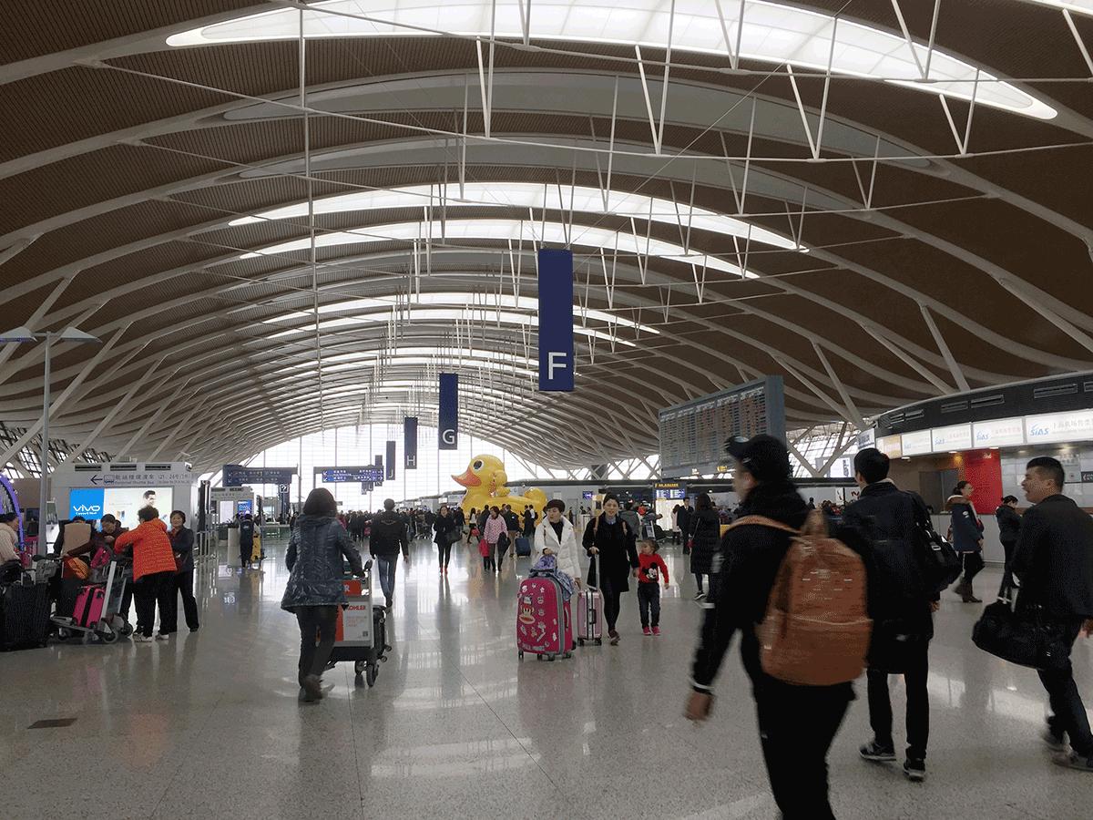 遠いとおいインド。上海、バンコク経由でチェンナイ