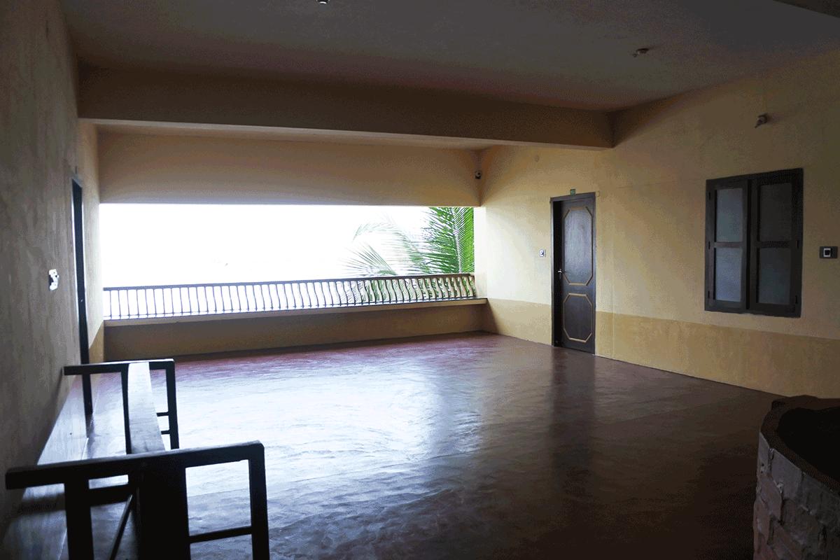 PVA Ayurvedic Hospitalのホール