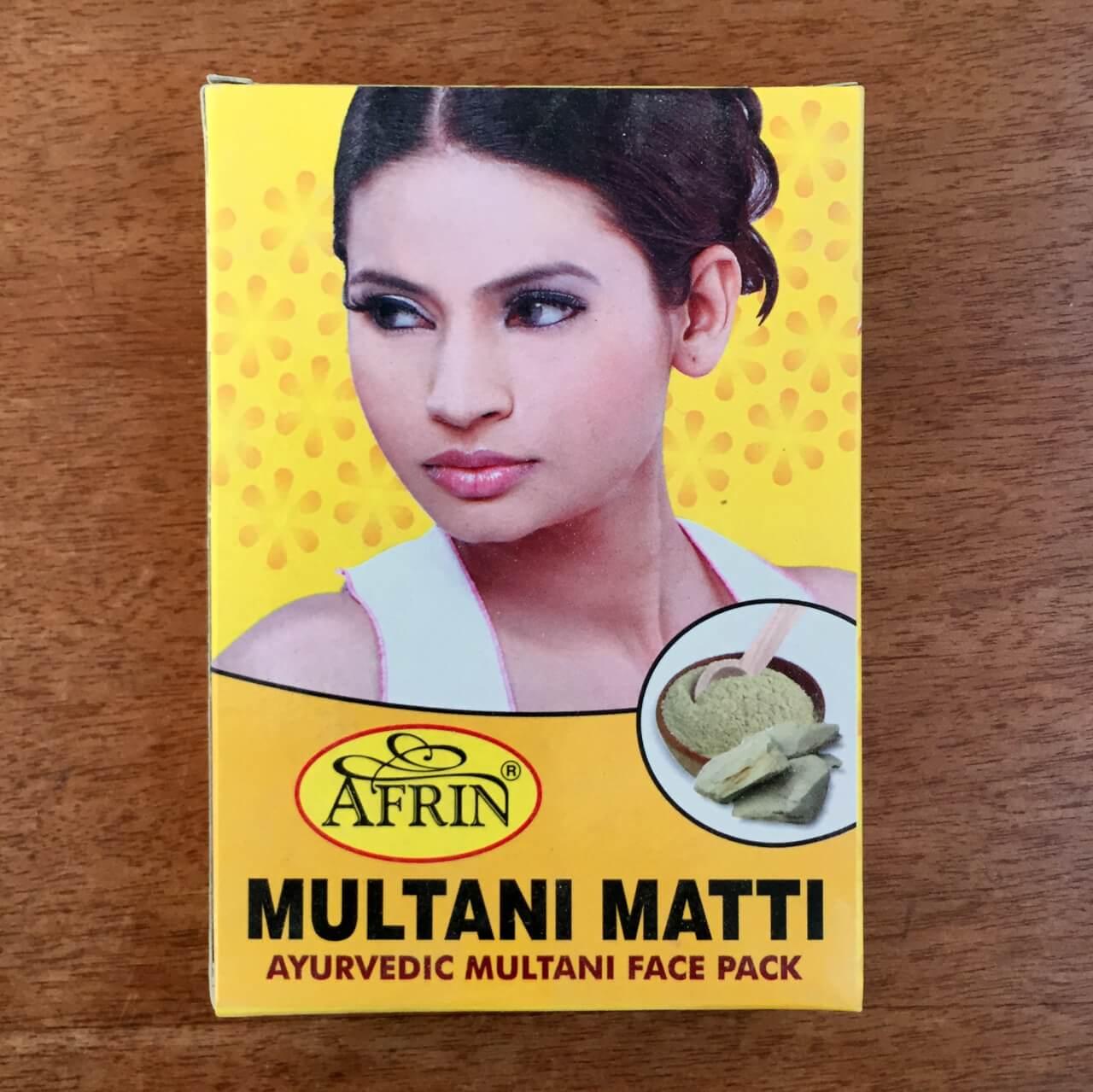 美肌アーユルヴェーダドクター推奨のフェイスケア「ムルタニミッティ Multani Mitti」