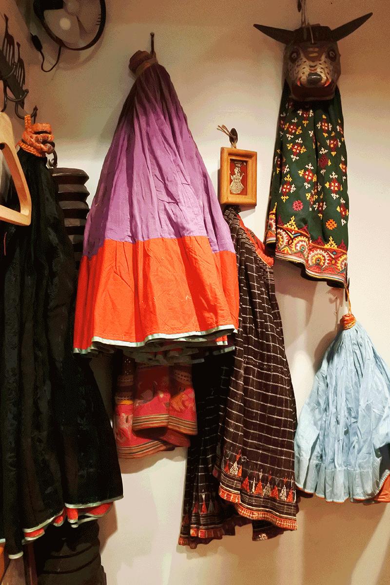 グランピエ、インドのスカートの部屋
