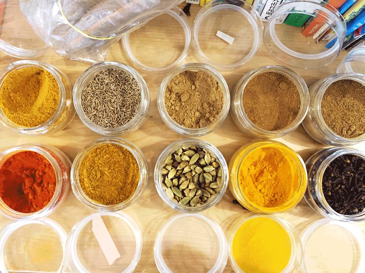 Spice Salon Sallyさんのインド直輸入スパイス