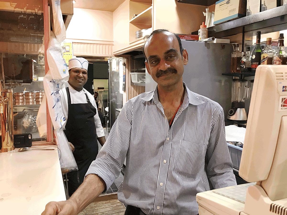 中目黒の南インド料理シリバラジ、みなさんタミルご出身