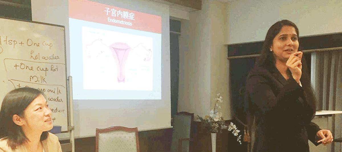 Dr.Anupama女性のためのアーユルヴェーダ