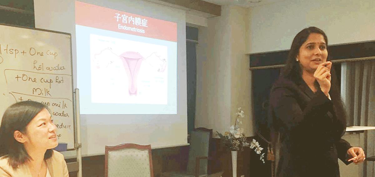 「女性のためのアーユルヴェーダ 〜 一般的な婦人科疾患への対策と健康増進法」講座|日本アーユルヴェーダスクール・東京